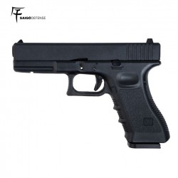 Saigo 17 ( Tipo Glock 17) CO2 BlowBack Metal Slide
