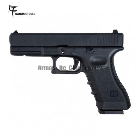 Saigo 17 ( Tipo Glock 17) CO2 BlowBack Metal Slide