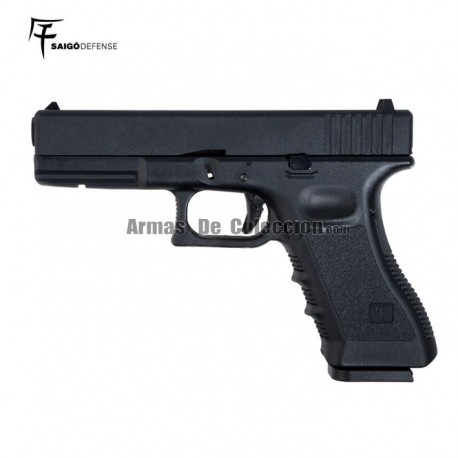 Saigo 17 (Tipo Glock 17) 6MM Gas BlowBack Metal Slide