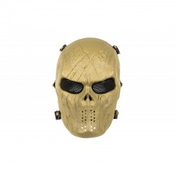 Full Face Skull Mask MKII (Tan Color)