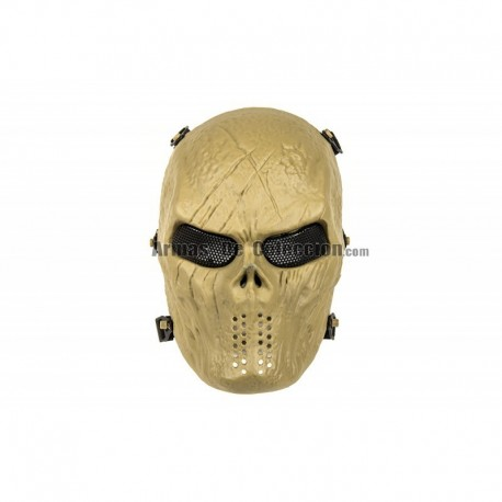 Full Face Skull Mask MKII (Tan Color)