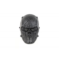 Full Face Skull Mask MKII (Black Color)