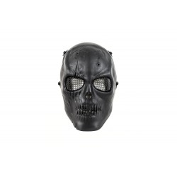 Máscara Facial de Caveira MKI (Cor Preta)