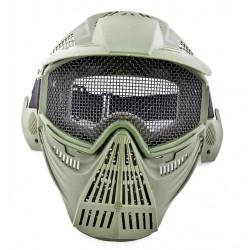 Máscara de Airsoft (cor verde)