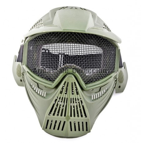 Airsoft Mask (Green Color)