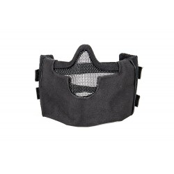 Steel Mesh Half Face Mask (Color Negro)