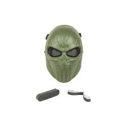 Máscara de Punisher de rosto inteiro (OD Color)
