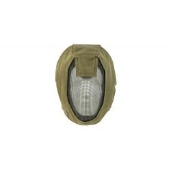 Máscara de malha de aço facial completa MKI (cor verde)