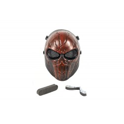 Full Face Punisher Mask (Red Color)