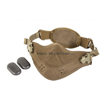 Half Face Neoprene/Cordura Mask (Tan Color)