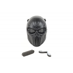Máscara Full Face Punisher Mask (Black Color)