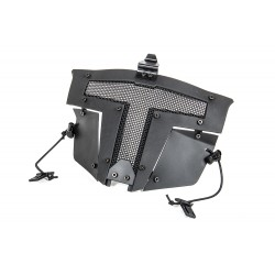 Spartan Mask Fast Helmet Mount - with helmet hitch - Black