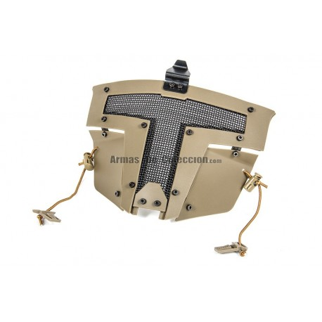 Evolution Spartan Mask Fast Helmet Mount Tan