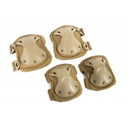 Black River Elbow & Knee Pad Set (Tan Color)