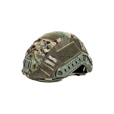 Black River F.A.S.T. Helmet Cover Digital Woodland 65% poliestere 35% cotone