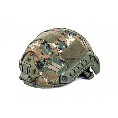 Black River Helmet Cover MH & PJ Marpat Woodland 65% poliestere 35% cotone