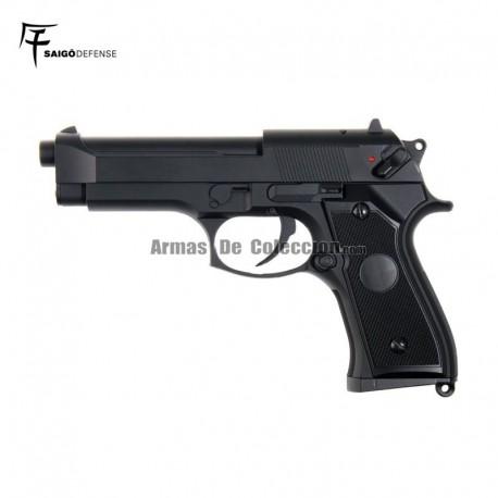 Saigo 92 ( Tipo Beretta 92 ) Electrica Black