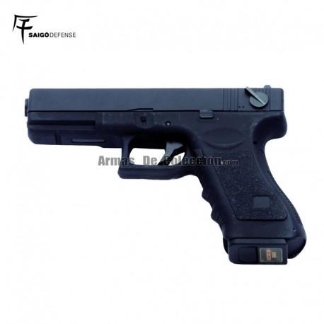 Saigo 18 ( Tipo Glock 18 ) Electrica Black