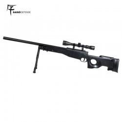 Saigo L96 Sniper Spring Preto