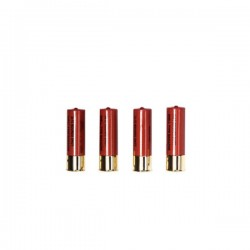 Shotgun cartridge 3 shots 30 balls pack 4 units