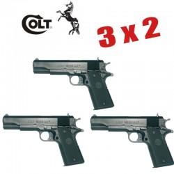 3X2 Colt 1911 A1 Pistola 6MM Muelle