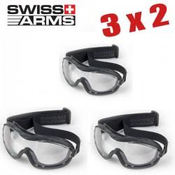 3X2 Gafas de protección OPS ligeras