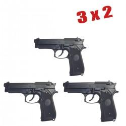 3X2 M92F Pistola 6MM Muelle