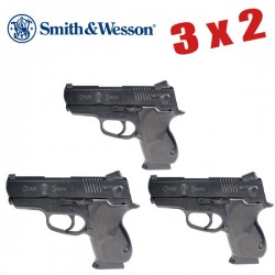 3X2 Smith & Wesson Chief Special CS45 Black (muelle)
