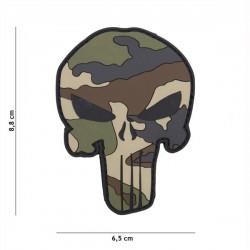 Punisher Camo 3D PVC Patch