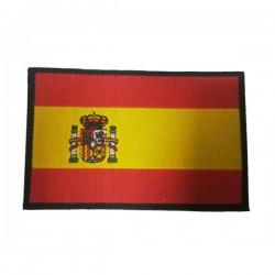 Patch de bandeira de garra na Espanha