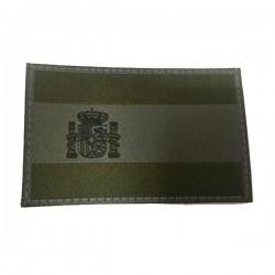 Patch de bandeira verde Espanha Clawgear