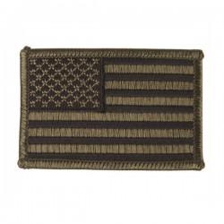Parche Bordado Bandera Americana Verde