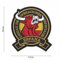 Patch de PVC 3D Toro Espanha U.O.E