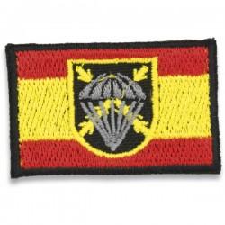 Patch de bandeira espanhola Bripac bordado com velcro no ombro