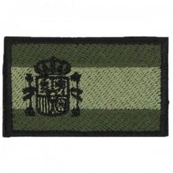 Patch de bandeira espanhola Velcro bordado ombro MB-1