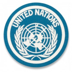 Light Blue Round ONU Patch