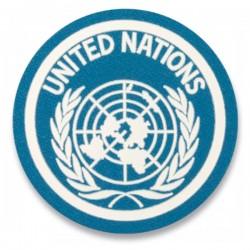 Parche ONU Redondo Celeste