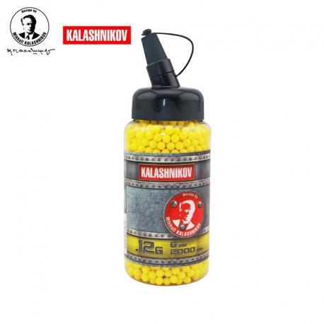 0,12 grs - Kalashnikov 2000 doses / garrafa 6 mm