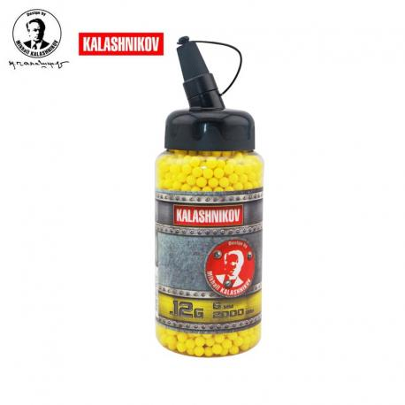 0,12 grs Kalashnikov 2000 shots / bottle 6 mm