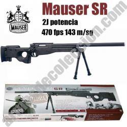 Mauser SR Warrior. 2J. 460 fps.
