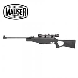Carbine Mauser Break Barrel airgun SR 4.5 mm con óptica