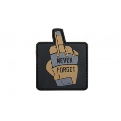 Never Forget 57 X 68 MM Patch