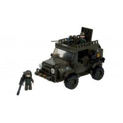 BRICK CONSTRUCCÓN JEEP EJERCITO 221 PCS COMPATIBLE LEGO