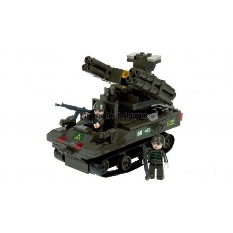 BRICK CONSTRUCCÓN TANQUE TOP-M1 212 PCS COMPATIBLE LEGO