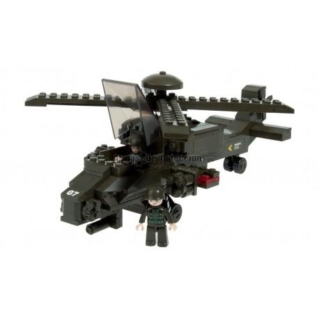 BRICK CONSTRUCCÓN HELICOPTERO HIND 199 PCS COMPATIBLE LEGO