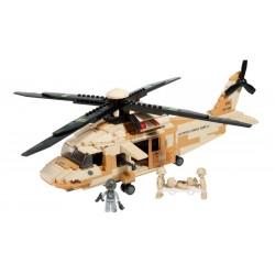BRICK CONSTRUCCÓN HELICOPTERO BLACK HAWK 439 PCS COMPATIBLE LEGO