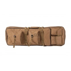 TRANSPORT CASE 85 cm RIFLE MULTI POCKETS TAN