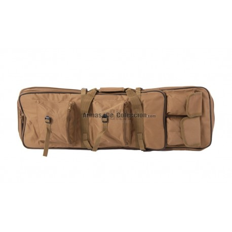 FUNDA TRANSPORTE RIFLE MULTIBOLSILLOS 85CM TAN DELTA TACTICS