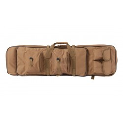 TRANSPORT SUITCASE 100 cm RIFLE MULTI POCKETS TAN