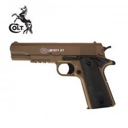 COLT 1911 corredera metálica Pistola 6MM Muelle